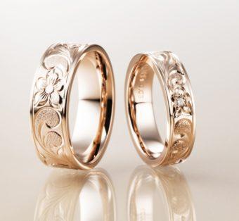 ハワイアンジュエリーの結婚指輪はマカナ