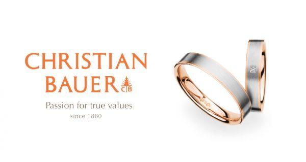 新潟で人気の結婚指輪(マリッジリング)と婚約指輪(ダイヤモンドエンゲージリング)鍛造 | 鍛造製法で作られた丈夫で着け心地の良いドイツジュエリー クリスチャンバウアー(CHRISTIAN BAUER)のマリッジリング