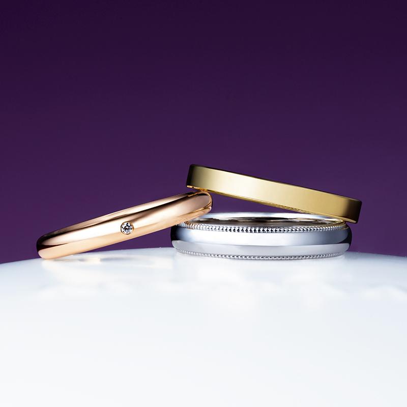 新潟で人気の結婚指輪と婚約指輪 にわか(ニワカ) | 祝いの言葉が込められた結婚指輪(マリッジリング)