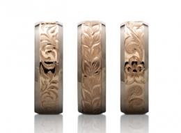 新潟で人気の結婚指輪(マリッジリング)と婚約指輪(ダイヤモンドエンゲージリング)ハワイアンジュエリーMakana(マカナ)| ハワイアンジュエリーMakana(マカナ)の本格派手彫りで刻む、新潟で人気の3種類の彫のデザイン