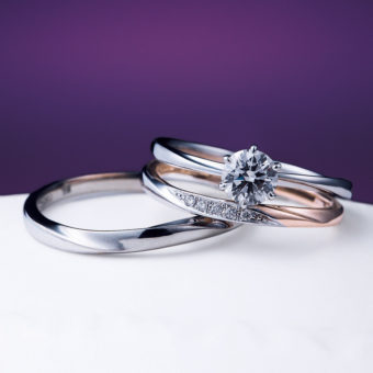 新潟で人気の結婚指輪と婚約指輪 にわか(ニワカ)   ストーリーがコンセプトになった結婚指輪(マリッジリング)の魅力   花雪(はなゆき)天からの贈りもの 君の薬指にひとつ