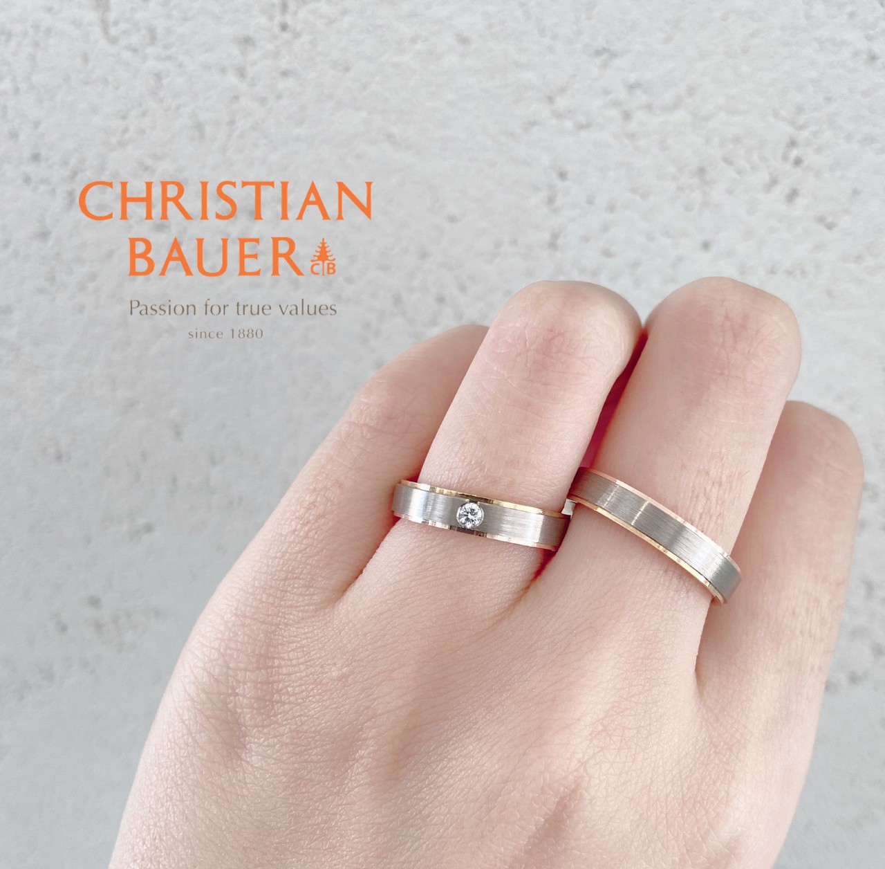 新潟で人気の結婚指輪(マリッジリング)と婚約指輪(ダイヤモンドエンゲージリング)鍛造 | 幅がありのかっこいい結婚指輪(マリッジリング)が似合う手とは