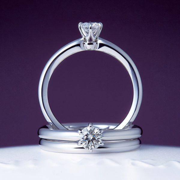 新潟で人気の結婚指輪と婚約指輪 にわか(ニワカ) | シンプルでかぶらない新潟で人気の婚約指輪(ダイヤモンドエンゲージリング)俄の【ことほぎ】