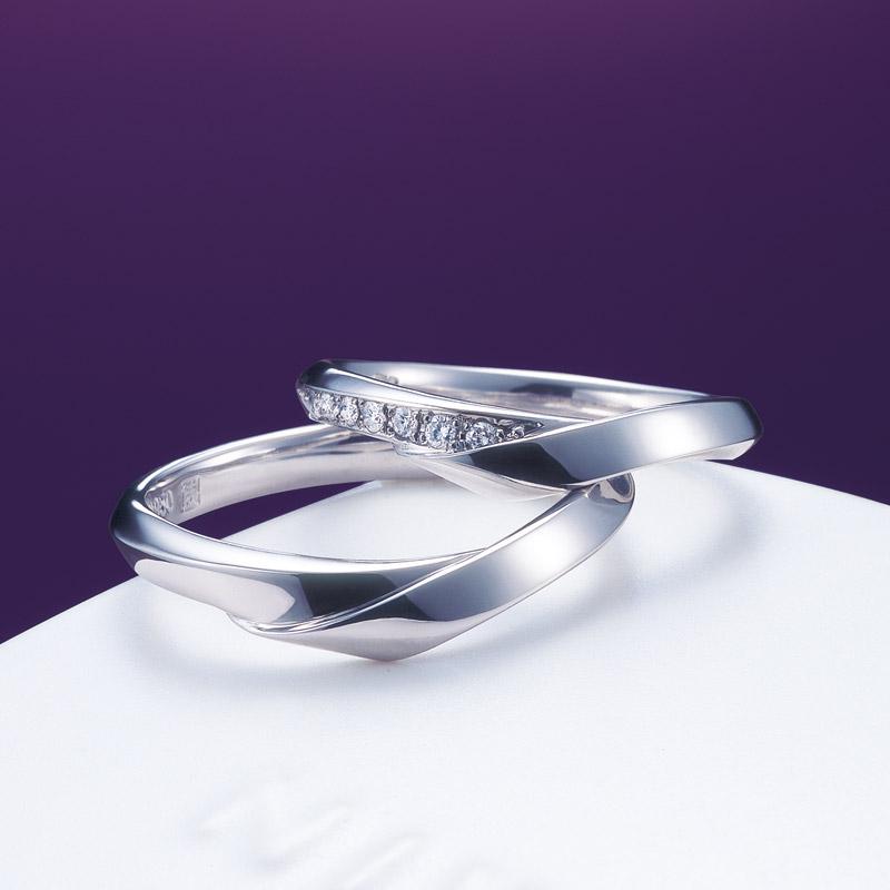 新潟で人気の結婚指輪と婚約指輪 にわか(ニワカ) | 結婚指輪を着物のように「身にまとう」
