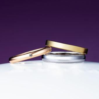 新潟で人気の結婚指輪と婚約指輪 にわか(ニワカ) | シンプルな雰囲気が魅力のストレートデザイン