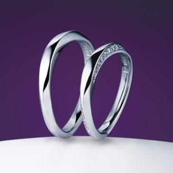 新潟で人気の結婚指輪(マリッジリング)と婚約指輪(ダイヤモンドエンゲージリング)俄(にわか) | ともに歩んでいくことを決意したお二人のためのマッリジリング