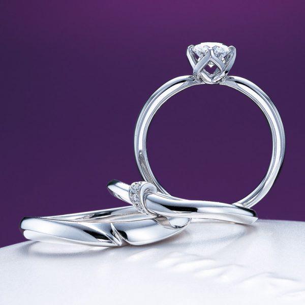 新潟で人気の結婚指輪(マリッジリング)と婚約指輪(ダイヤモンドエンゲージリング)俄(にわか) | 新潟プレ花嫁が注目のダイヤモンドエンゲージリングとは?