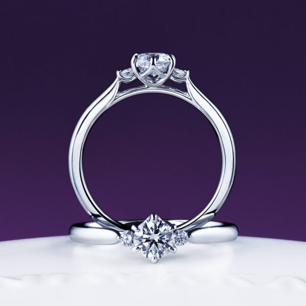 新潟で人気の結婚指輪と婚約指輪 にわか(ニワカ) | 新潟婚約指輪 にわか(ニワカ)白鈴(しろすず)のストーリーとデザインの魅力